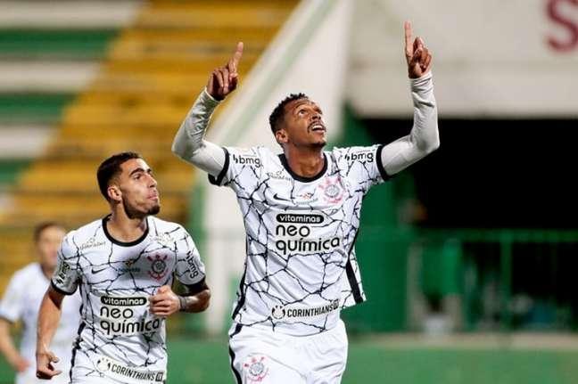 Jô tem oito gols marcados nesta temporada (Foto: Rodrigo Coca/Ag. Corinthians)