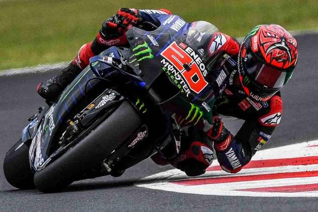 Fabio Quartararo soma 19 pódios na MotoGP