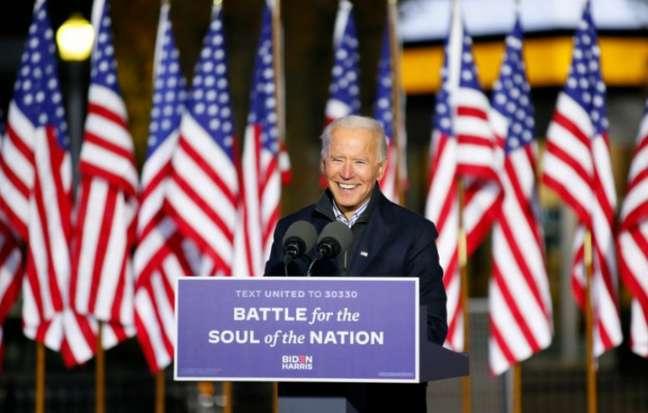 Biden é favorito para reeleição nos EUA, segundo casa de apostas (Reprodução/Twitter @JoeBiden)