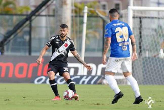 Ricardo Graça vem sendo titular com Diniz (Foto: Rafael Ribeiro/Vasco)