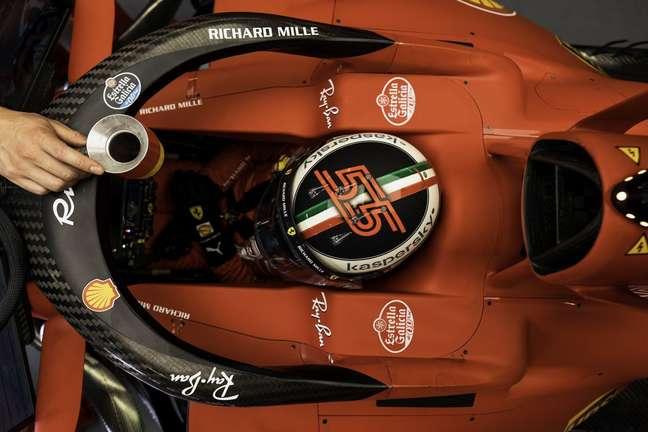 Sainz faz sua primeira temporada pela Ferrari em 2021