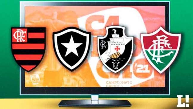 Proposta da Globo para o Carioca vai entrar em pauta na Ferj (Foto: Montagem LANCE!)
