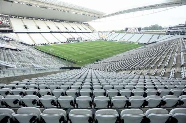 Corinthians tem apenas 50% de aproveitamento em seu estádio neste ano (Foto: Rodrigo Coca/Ag. Corinthians)
