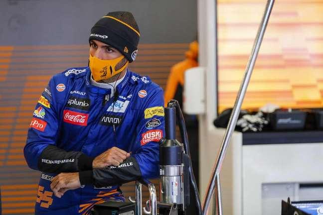 Sainz defendeu a McLaren entre 2019 e 2020