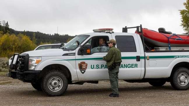 Grande operação de busca foi realizada no parque nacional de Wyoming, onde Gabby Petito foi vista pela última vez