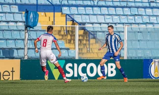 Arthur acumula ótimos números na competição nacional da categoria (Leandro Boeira/Avai F.C.)