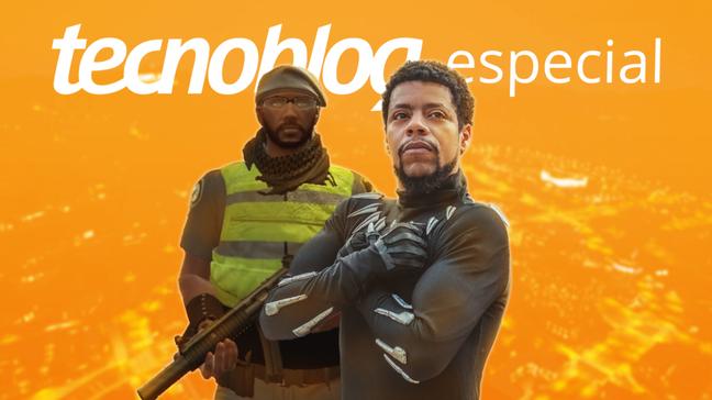 Aaron Boseman, policial e personagem de Wellington Silva no GTA RP