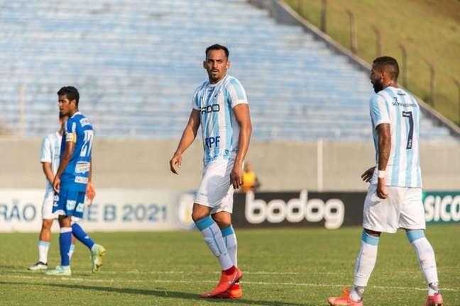 Marcão espera seguir com chances no time titular do Londrina (Foto: Ricardo Chicarelli/Londrina)