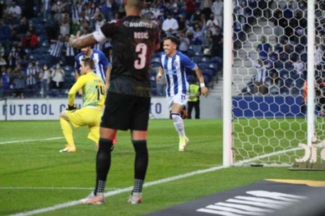Pepê marcou na vitória do Porto (Foto: Divulgação / FC Porto)