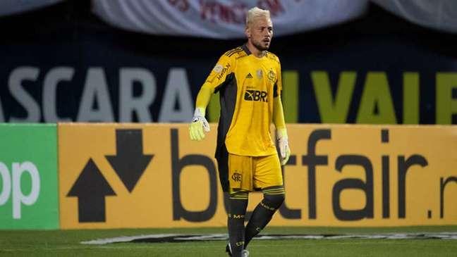 Diego Alves diz que ainda tem muito campeonato pela frente (Foto: Alexandre Vidal / Flamengo)