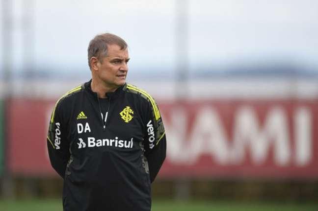 Aguirre mira classificação para a Libertadores (Foto: Divulgação/Internacional)
