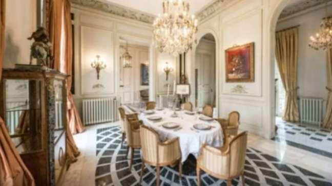Sala de jantar (Imagem: Reprodução/Sotheby