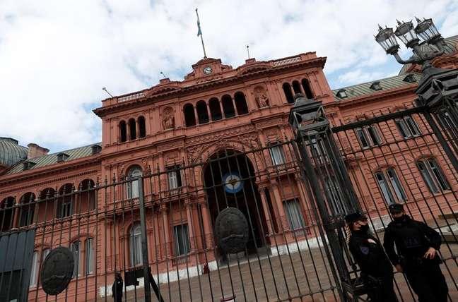 Casa Rosada, a sede da Presidência argentina, em Buenos Aires 20/09/2021 REUTERS/Agustin Marcarian