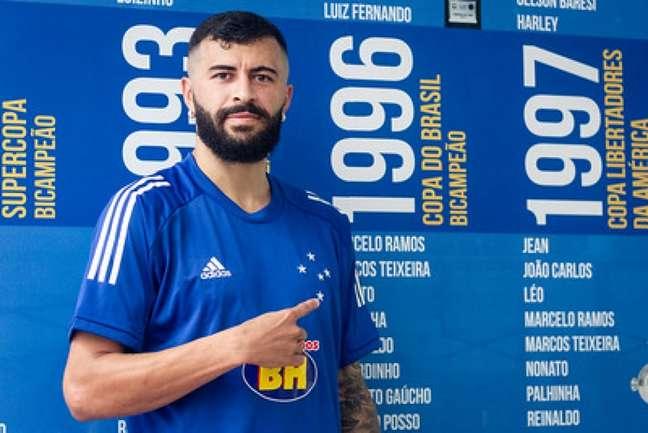 João Lucas teve passagem apagada no Cruzeiro , mas cobra o clube na Justiça do Trabalho-(Bruno Haddad/Cruzeiro)