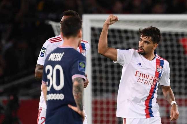Lucas Paquetá chegou ao Lyon na temporada passada e é titular incontestável nos Gones (Foto: FRANCK FIFE / AFP)