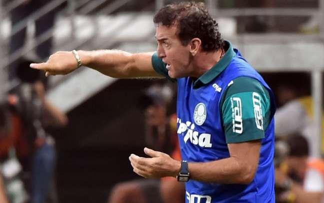 Cuca quando era o técnico do Palmeiras AFP
