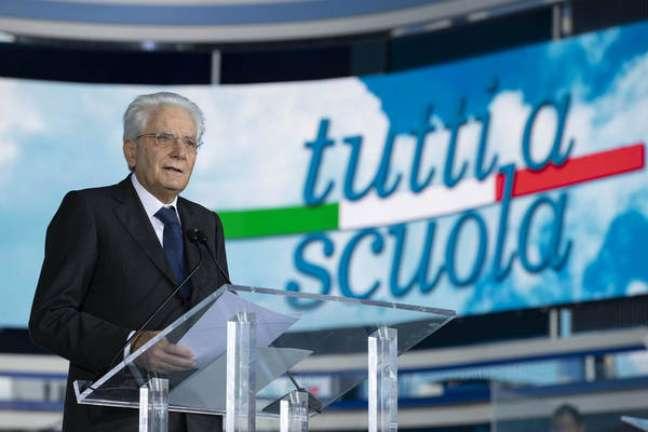 Mattarella ainda elogiou a adesão dos jovens às vacinas