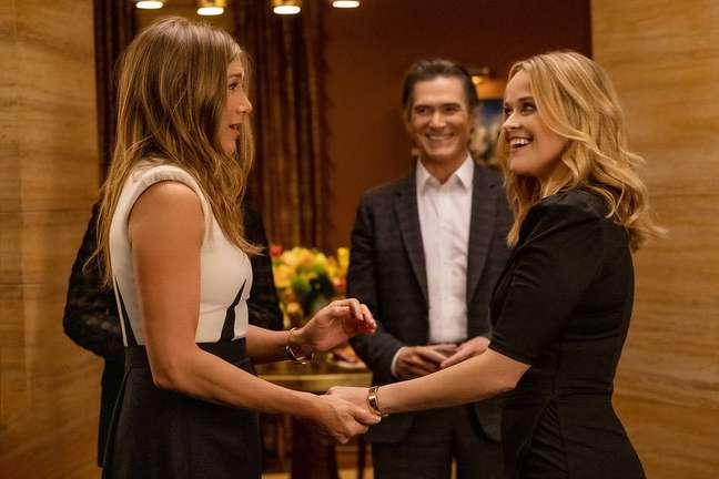 Jennifer Aniston, Billy Crudup e Reese Whiterspoon na 2ª temporada de 'The Morning Show'