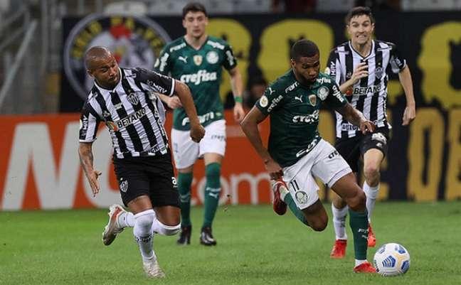 Palmeiras e Atlético-MG iniciam uma das semifinais da Libertadores nesta terça-feira (Foto: Cesar Greco)