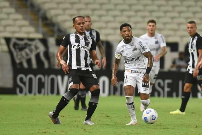 Ceará vem de empate contra o Santos (Foto: Ivan Storti/Santos FC)