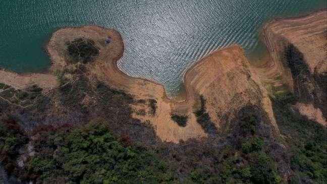 Maior hidrelétrica do subsistema Sudeste, reservatório de Furnas está com 15% da sua capacidade