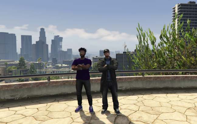 Boseman e Parker em Cidade Alta