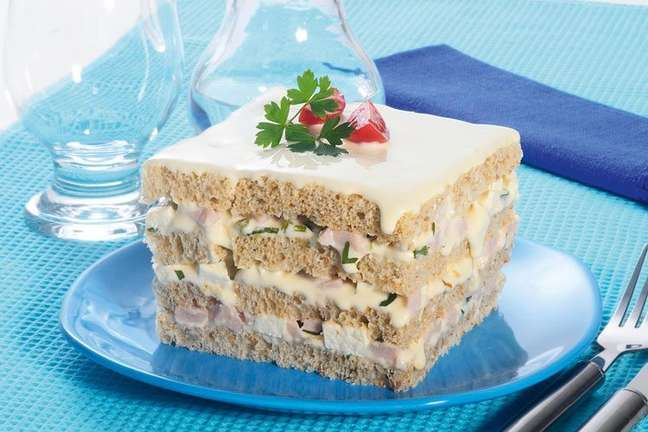 Guia da Cozinha - Receita de bolo salgado light delicioso