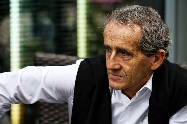 Alain Prost simplesmente odeia o conceito de inversão de grid
