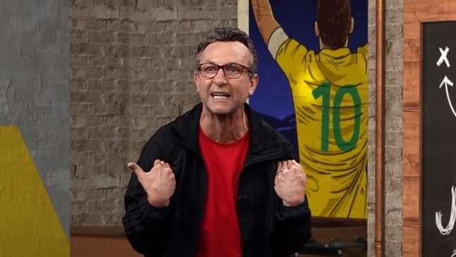 Ex-jogador usou espaço na Band para mandar recado para treinador do Corinthians (Reprodução / Band)