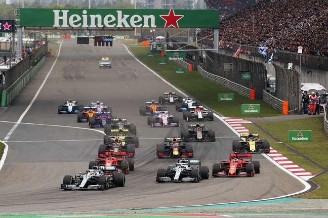 A F1 pretende voltar à China em 2022