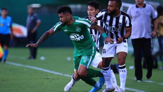Confronto com os cearenses no primeiro turno terminou sem gols (Márcio Cunha/Chapecoense)