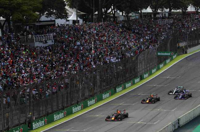Segundo esboço, GP de São Paulo será o penúltimo da temporada 2022, em 13 de novembro
