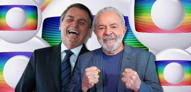 Inimigos na política, Bolsonaro e Lula estão juntos na batalha contra a poderosa Globo