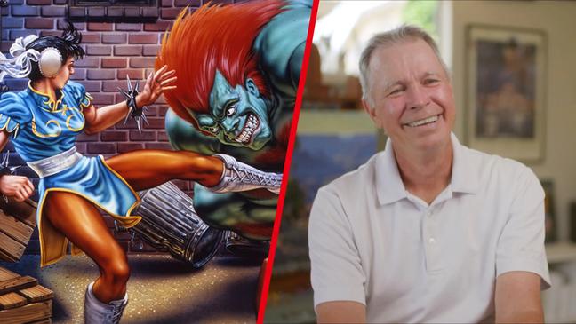Mick McGinty, artista de Street Fighter II
