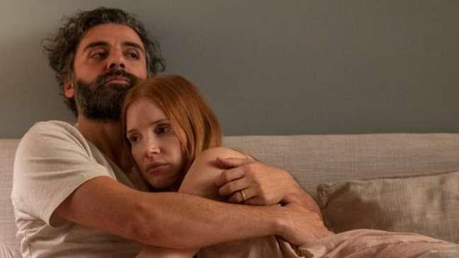 """Oscar Isaac e Jessica Chastain na série """"Cenas de um Casamento"""", estreia da HBO Max"""