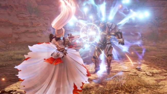 Combates de Tales of Arise são cheios de ação