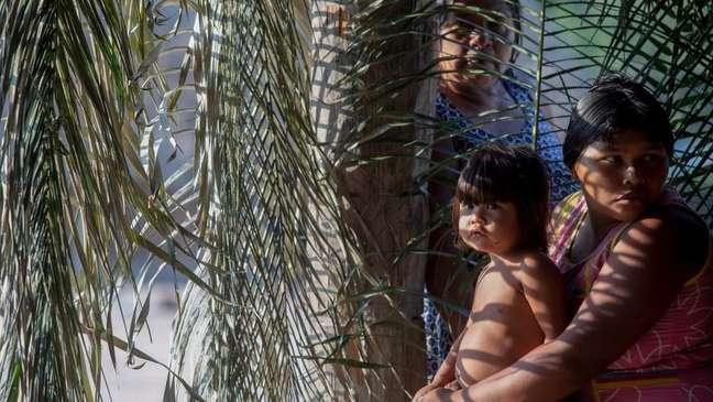 Os direitos de povos indígenas estão no centro do debate no STF