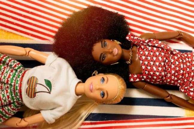 Barbie e Ken abrem Semana de Moda de Milão
