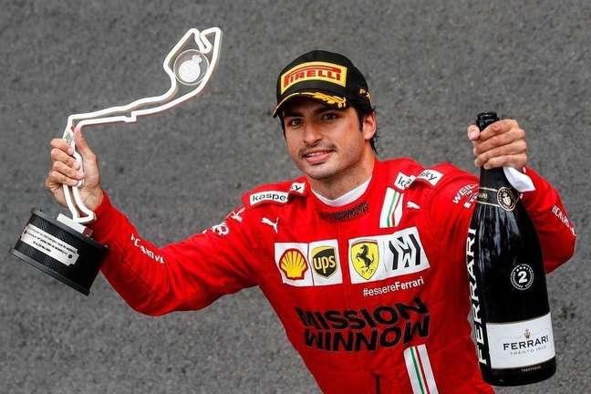Carlos Sainz entende que ainda tem muito o que melhorar neste ano de estreia com a Ferrari