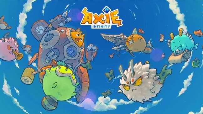 Banner promocional de Axie Infinity (Imagem/ Divulgação/ Sky Mavis)