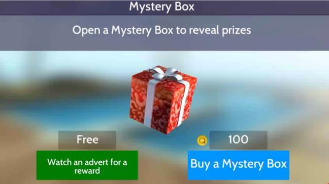 Abra sempre que puder a Caixa Misteriosa