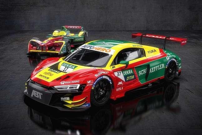 Lucas Di Grassi vai pilotar no DTM carro de pintura idêntica ao modelo que usou no título da Fórmula E