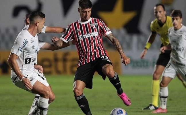 Santos e São Paulo se enfrentaram três vezes no ano (Foto: Rubens Chiri / saopaulofc.net)