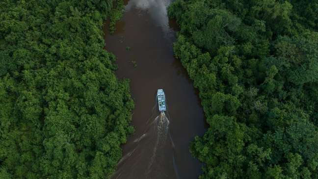 O SESC Pantanal tem mais de 108 mil hectares de área e recebe 30 mil turistas por ano