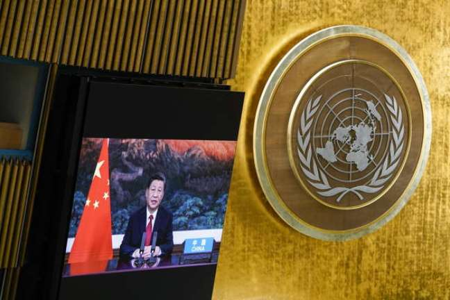 Presidente chinês enviou vídeo para ONU