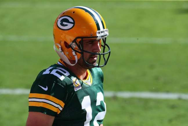 Aaron Rodgers (Green Bay Packers / Reprodução / Twitter)