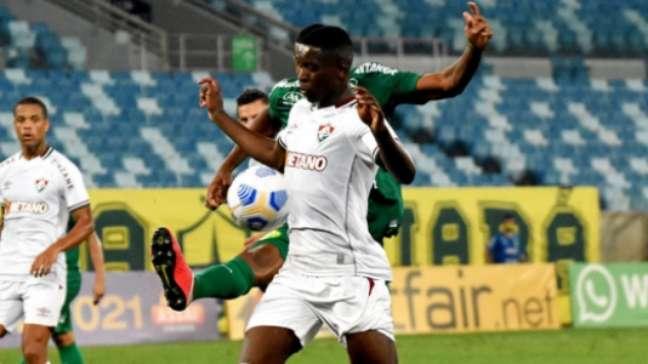 Luiz Henrique marcou o primeiro do Fluminense (Foto: MAILSON SANTANA/FLUMINENSE FC)