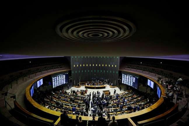 Plenário da Câmara dos Deputados em Brasília REUTERS/Adriano Machado
