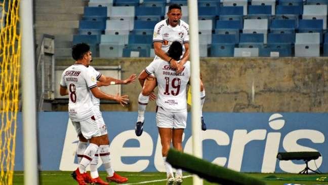 Danilo Barcelos tem quatro assistências pelo Fluminense neste Brasileiro (MAILSON SANTANA/FLUMINENSE FC)