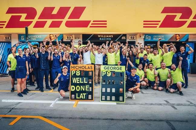 A Williams tem muito a comemorar desde a volta aos pontos no GP da Hungria